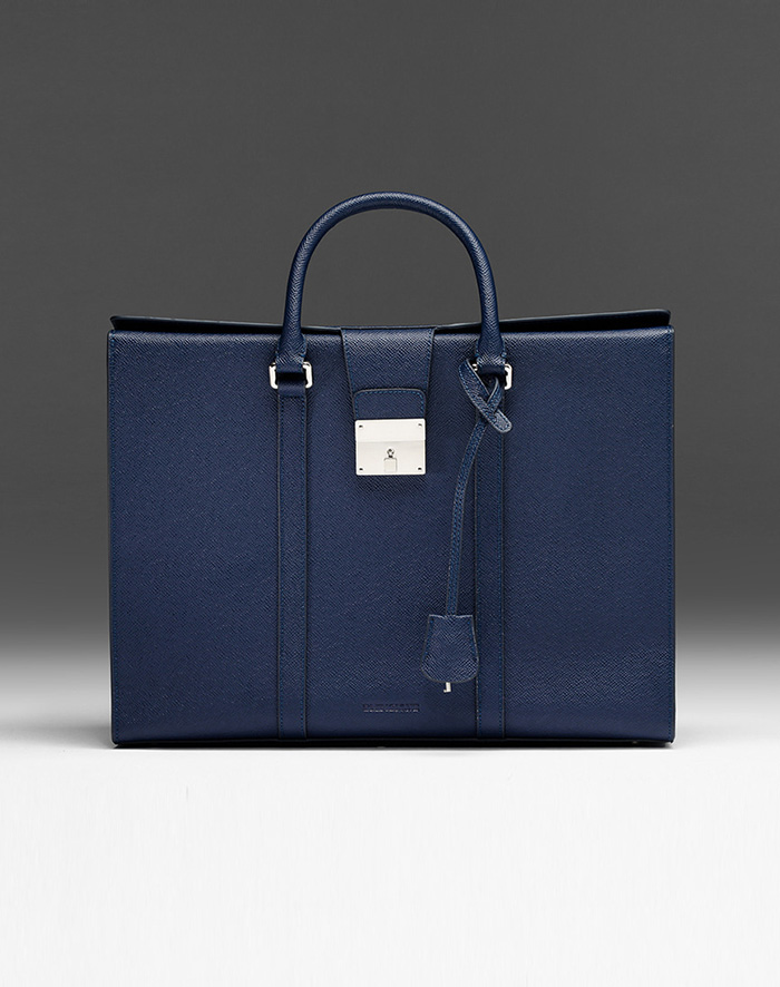 엠비지오네 CITY_R TOTE(NAVY)