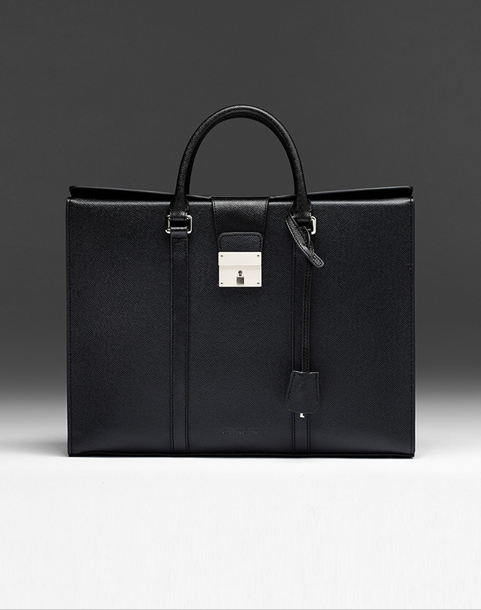 엠비지오네 CITY_R TOTE(BLACK)